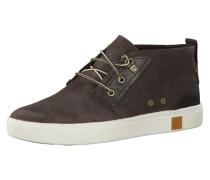 Sneaker 'Amherst Chukka A17Eu' kastanienbraun / weiß