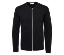 Strick-Cardigan Regular-Fit schwarz
