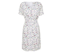 Kleid 'french Botanical' mischfarben / weiß