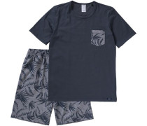Schlafanzug dunkelblau