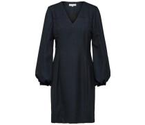 Kleid mit langen Ärmeln nachtblau
