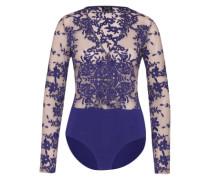 Bodysuit 'camellia' blau