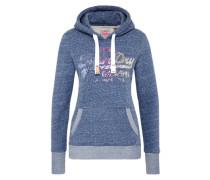 Sweatshirt 'sequin Entry Hood' navy