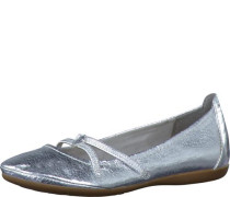 Ballerina metallic silber