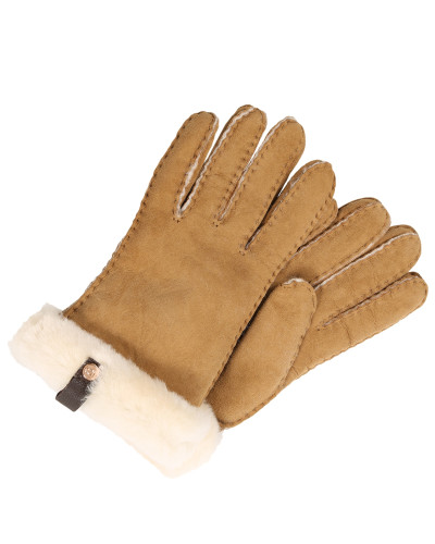 Handschuhe 'Shorty Glove with leather trim'