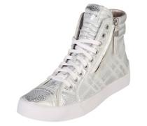 Hightop-Sneaker 'D-velows d-string plus' silber