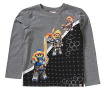 Langarmshirt Nexo Knights TEO für Jungen blau / gelb / grau / schwarz