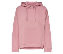 Einfarbiger Hoodie rosa