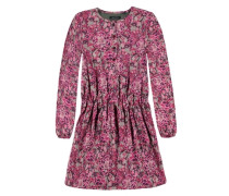 Junior Kleid langärmlig mischfarben