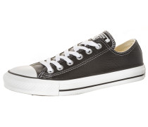 Chuck Taylor All Star OX Classic Leather Sneaker schwarz