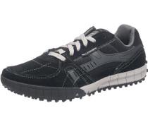 'Floater' Freizeit Schuhe hellgrau / schwarz