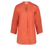 Casual-Bluse langarm orange