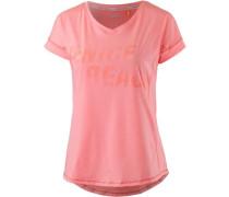 Diana T-Shirt Damen koralle / rosa / grenadine