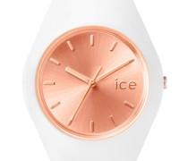 ice-watch Quarzuhr »Ice chic - White Rosé-Gold Ice.cc.wrg.u.s.15« rosegold / weiß