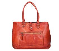 Melissa Shopper Tasche Leder 38 cm rot