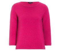 Ottoman-Pullover pink rosa