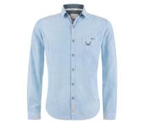 Hemd 'Enriko' blau