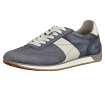 Sneaker taubenblau / weiß