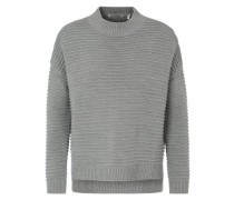 Pullover 'Turtle Neck' grau