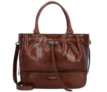 Shopper Tasche Leder 34 cm braun