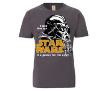 "T-Shirt ""Darth Vader"" lila"