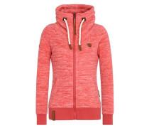 Zipped Jacket 'Redefreiheit? Iii' braun / melone