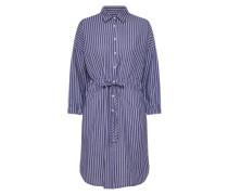 Hemdkleid 'vono' blau / weiß