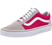 'Old Skool' Sneakers beige / dunkelpink