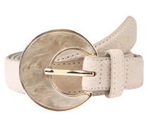Gürtel 'pearl Snake Belt' beige