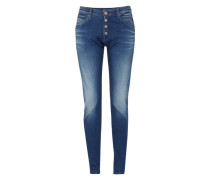'Pilar' Boyfriend Jeans blau