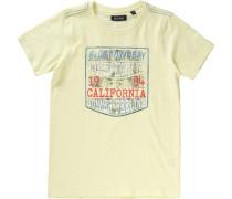 T-Shirt für Jungen gelb / hellrot