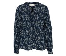 Bluse 'Fabiana' blau / weiß
