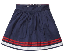 Skirt »Placed Stripe Skirt« dunkelblau / rot / weiß