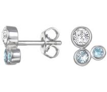 Paar Ohrstecker mit Glassteinen »-Jw50093 Eser92705D000« silber