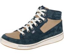 'Rad II' Sneakers hellbeige / blau