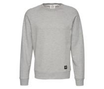 Sweatshirt 'Rules' grau