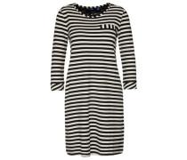 Dress gestreiftes Kleid dunkelblau / mischfarben / naturweiß