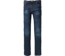 Jeans 'jane' Skinny Fit Bundweite Superbig blau