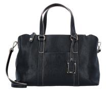 Matilda Handtasche Leder 31 cm schwarz
