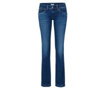 Gerade geschnittene Jeans 'Banji' blue denim