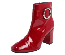 Stiefelette 'Zooey' rot
