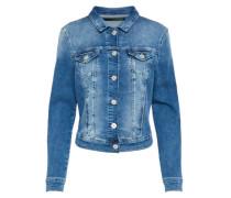 Jeansjacke Damen blue denim
