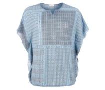 Mesh-Shirt mit Allover-Print