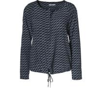 Bluse nachtblau / hellblau