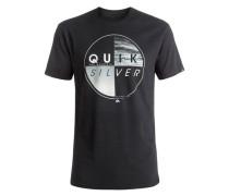 T-Shirt 'Classic Blazed' anthrazit / weiß