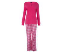 Pyjama pink / weiß