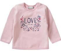 Baby Sweatshirt für Mädchen rosa
