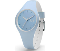 ice-watch Quarzuhr »Ice duo - White Sage Duo.wes.s.s.16« blau / weiß