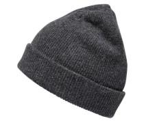 Woll-Mütze anthrazit