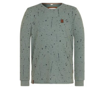 Sweatshirt 'Nordschleife made men' pastellblau